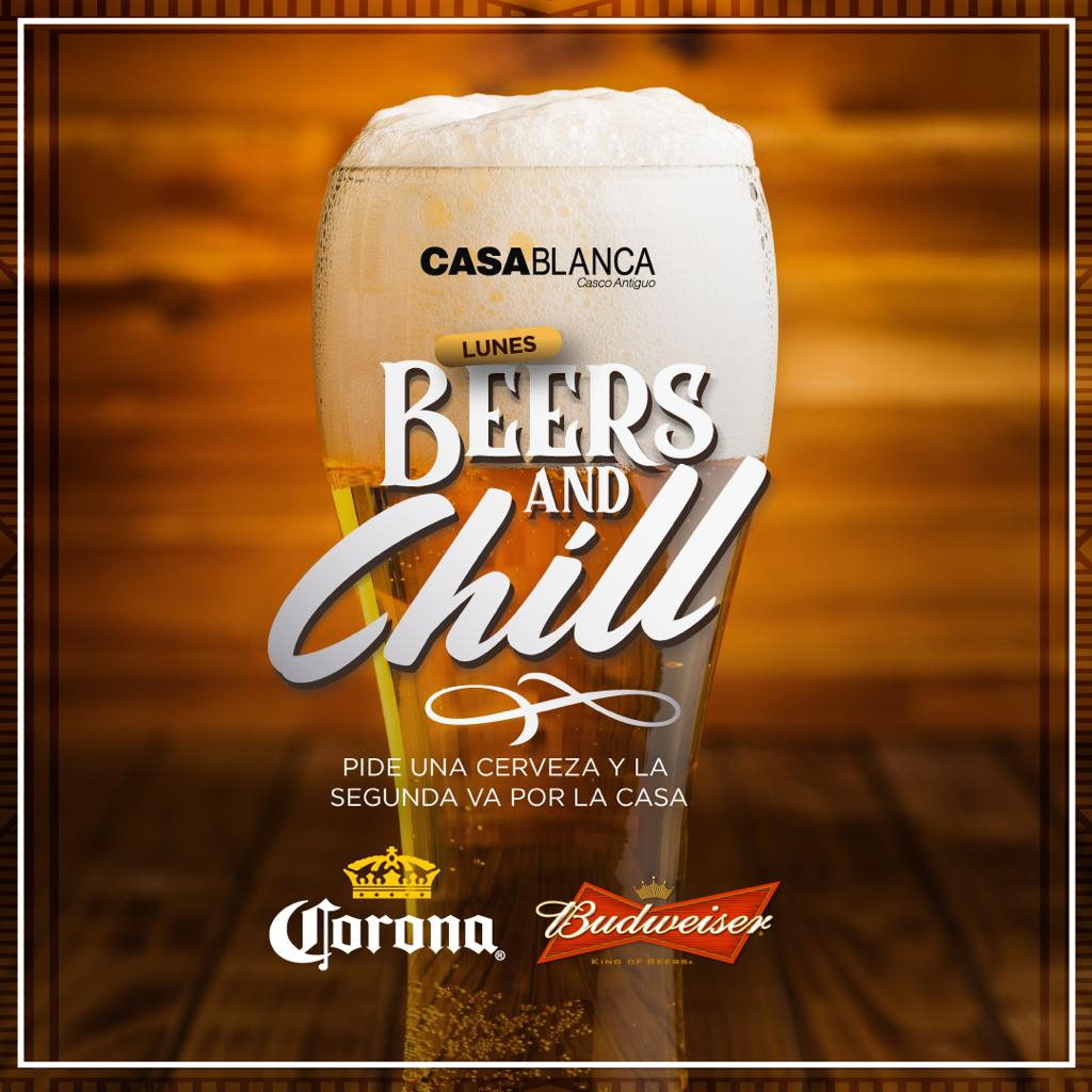 Beer and Chill - Casa Blanca
