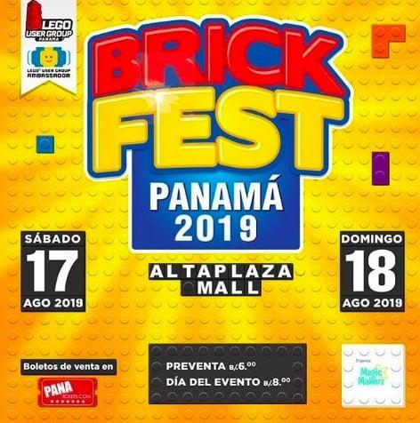Brick Fest Panama 2019