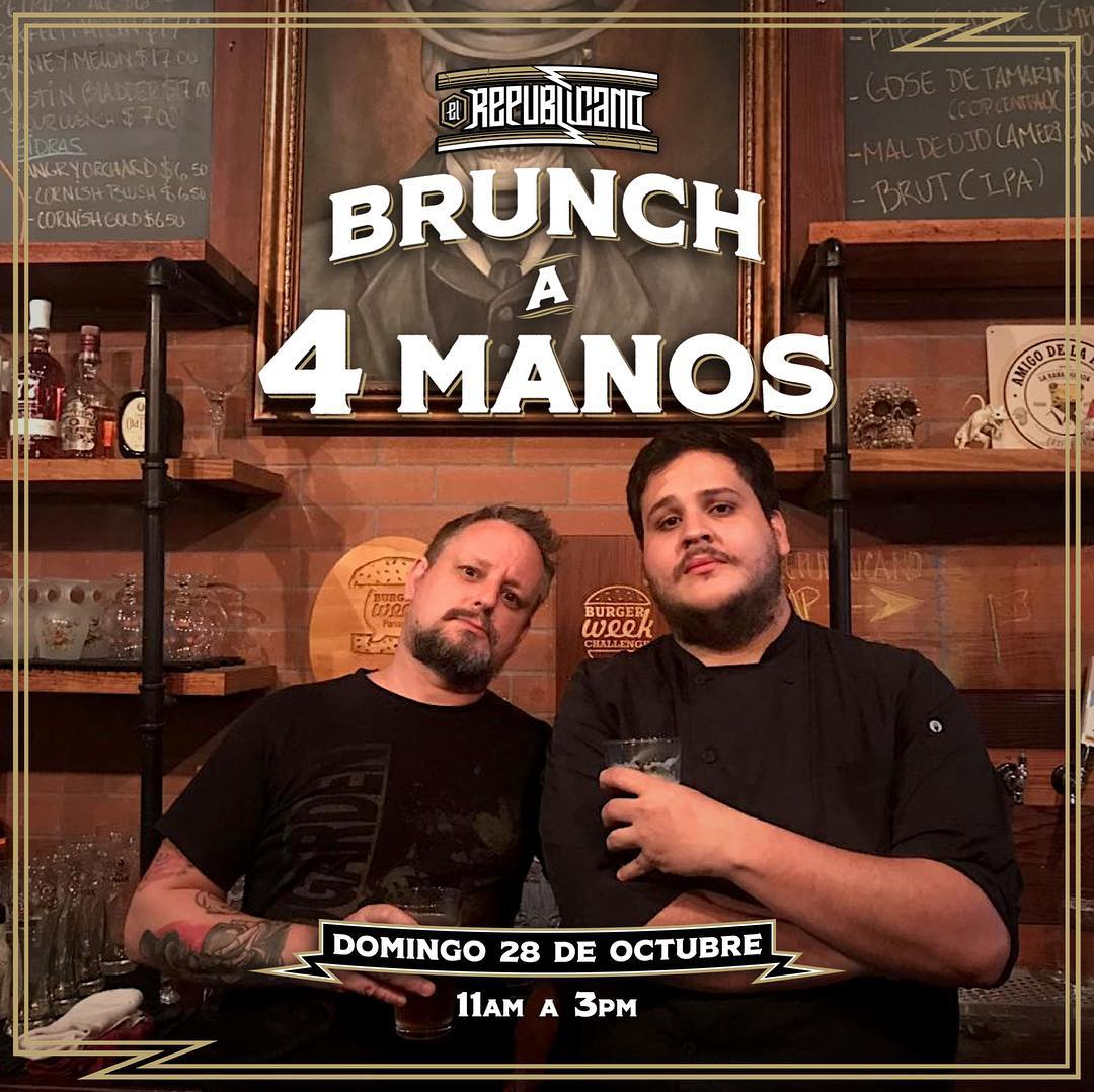 BRUNCH A 4 MANOS