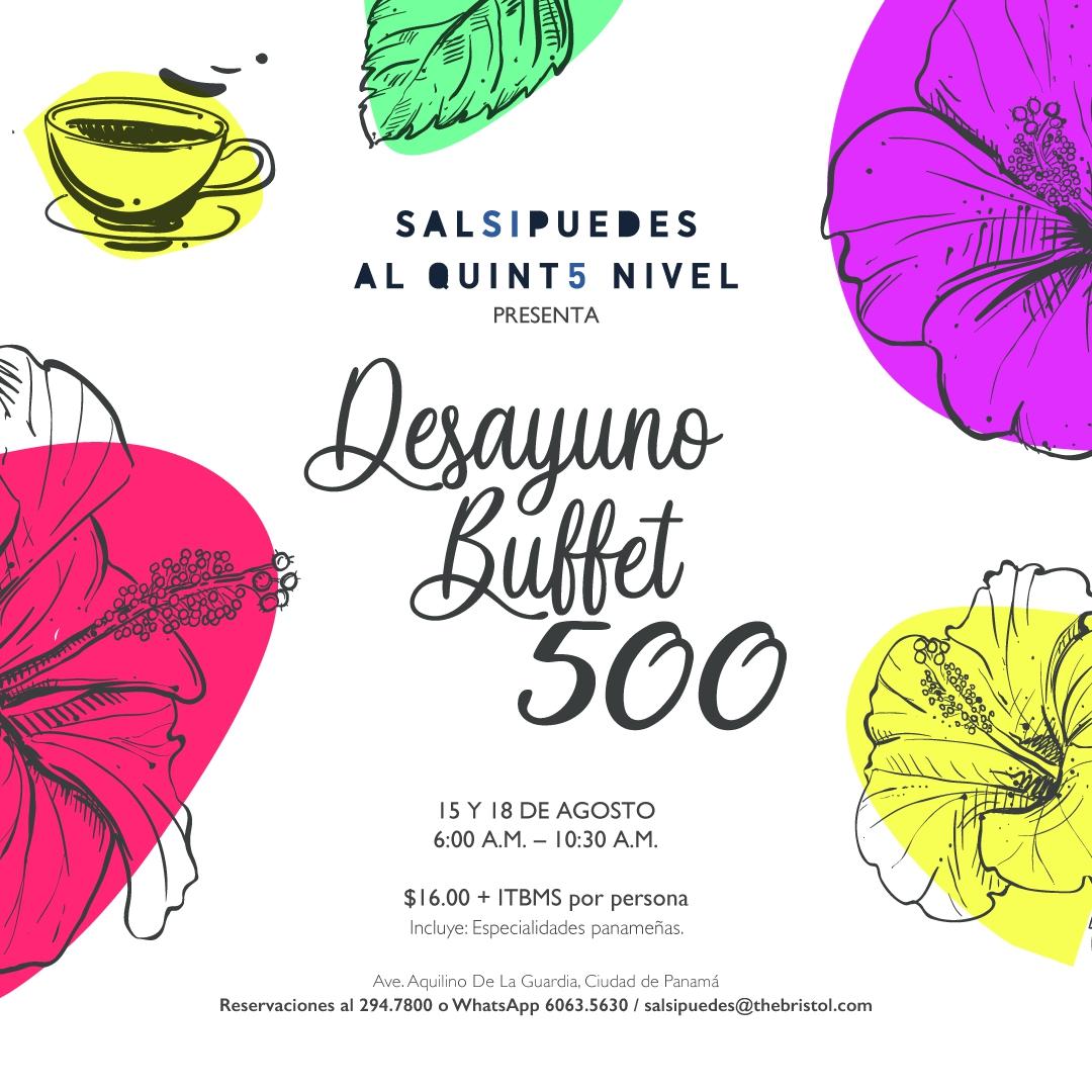 Buffet Breakfast 500
