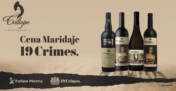 CENA MARIDAJE: 19 CRIMES