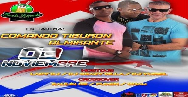COMANDO TIBURÓN & ALMIRANTE EN TARIMA