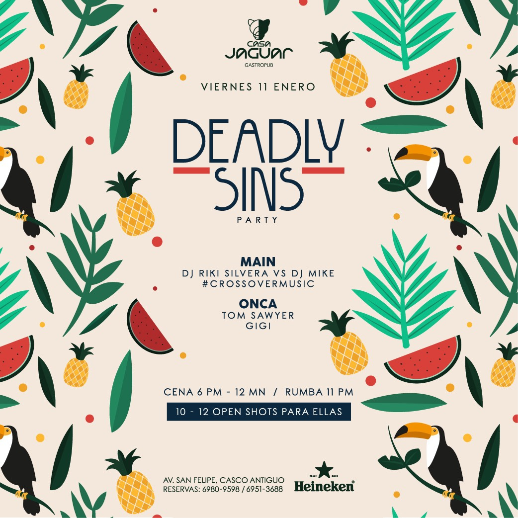 DEADLY SINS PARTY