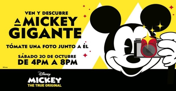 DISCOVER GIANT MICKEY