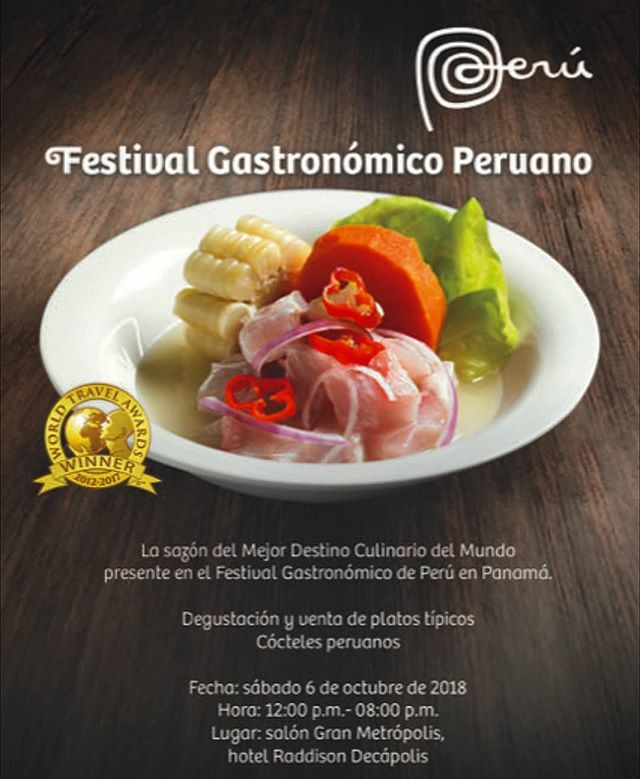 FESTIVAL GASTRONOMICO PERUANO