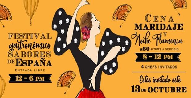 GASTRONOMIC FESTIVAL FLAVORS OF SPAIN