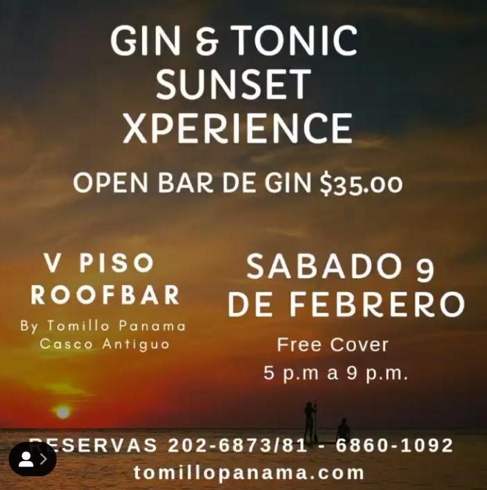 Gin & Tonic Sunset Xperience