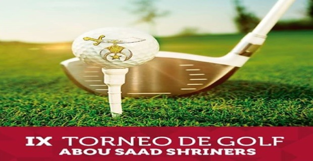 GOLF TOURNAMENT ABOU SAAD SHRINERS