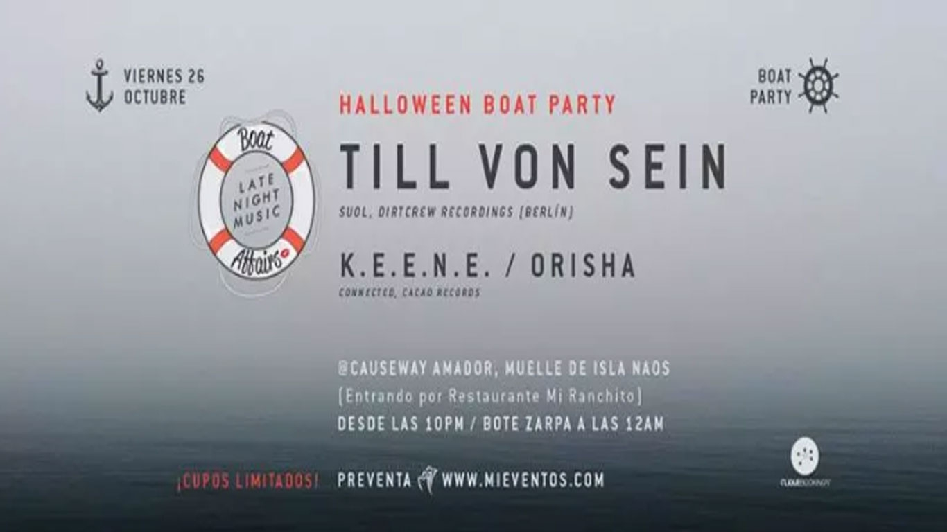 Halloween Boat Affairs