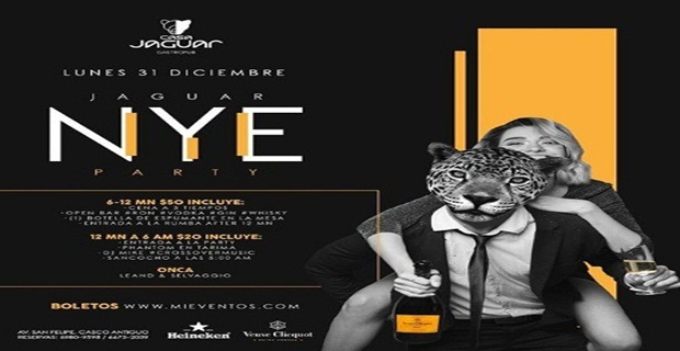JAGUAR NYE PARTY