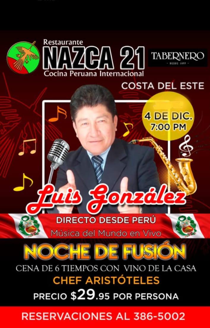 Live World Music at Nazca 21
