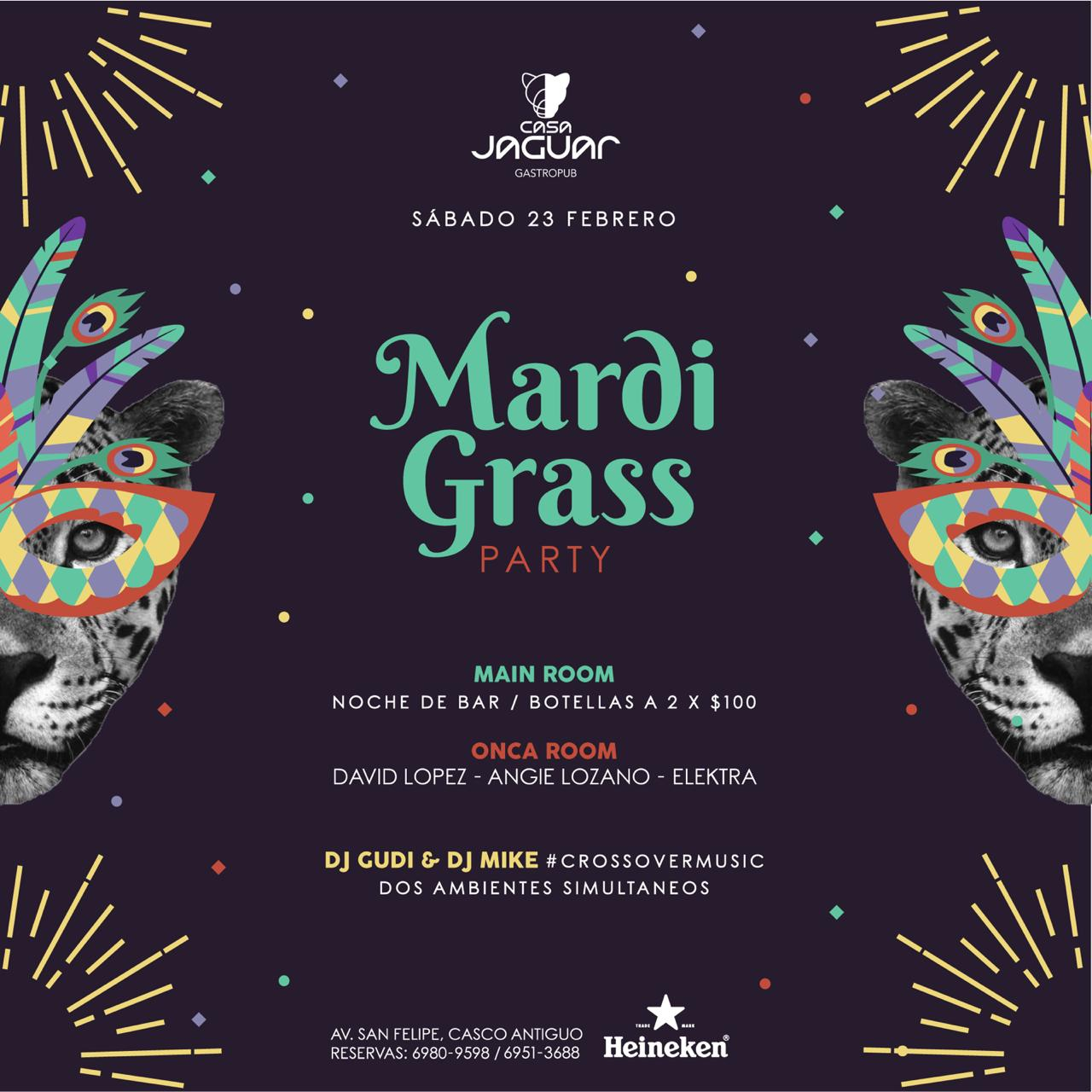 Mardi Grass Party
