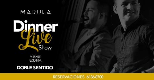Marula Dinner Live Show