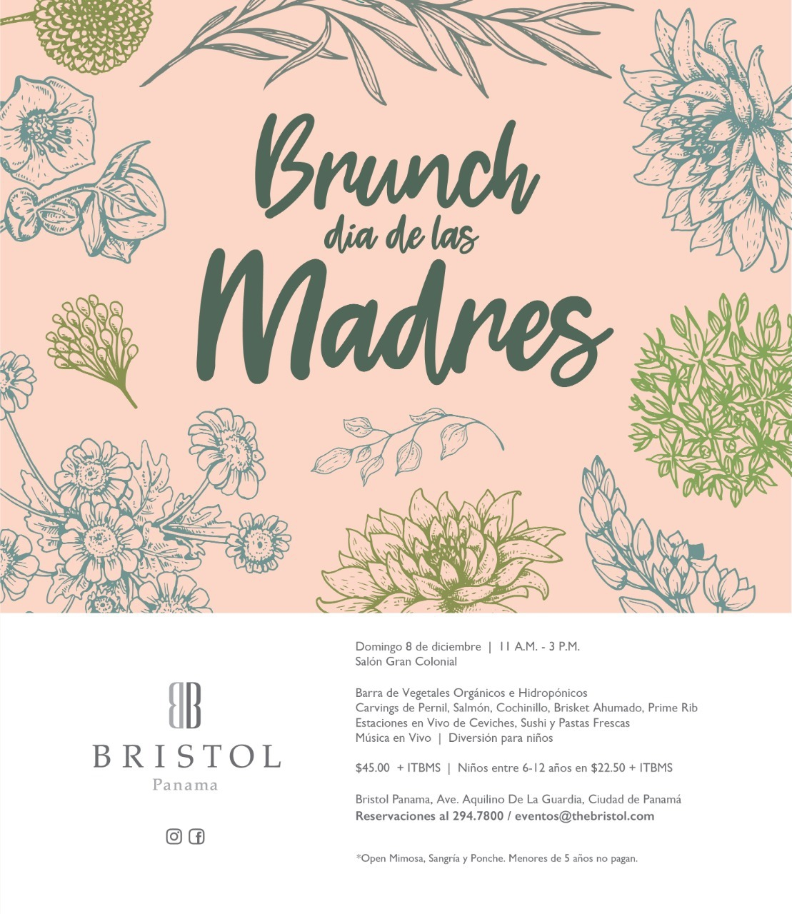 Mother's Day at Bristol Hotel