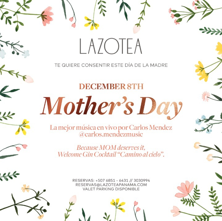 Mother's Day at Lazotea