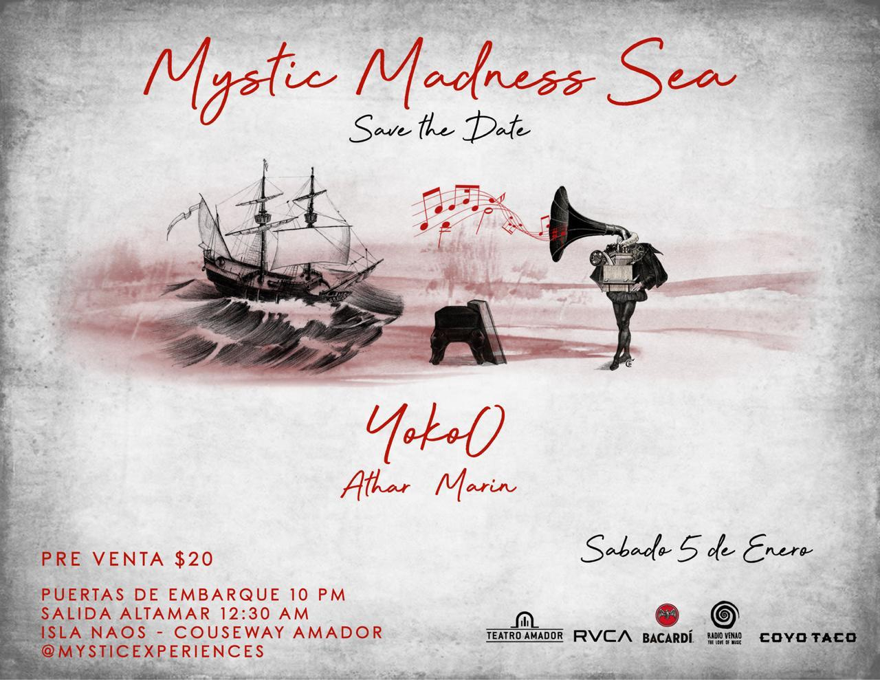 Mystic Madness at Sea