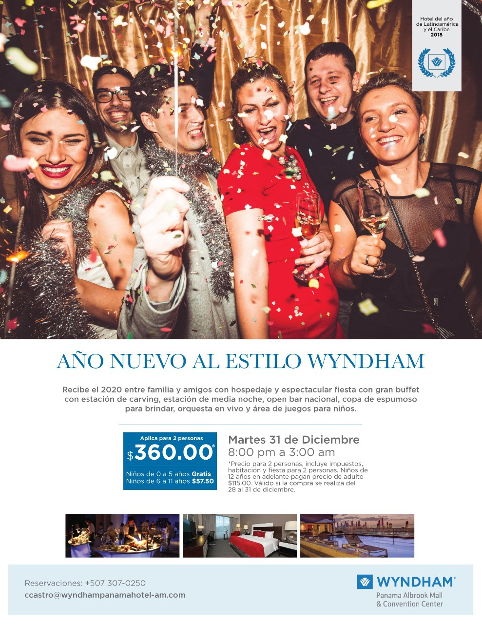 New Year's Eve at Wyndham 2020