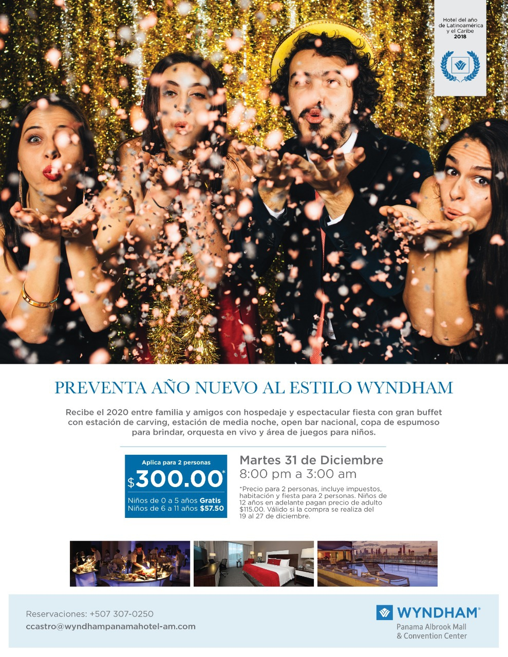 New Year's Eve at Wyndham