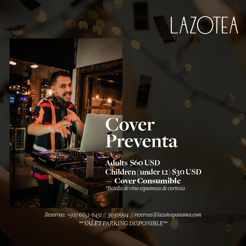 New Year's Eve Party at Lazotea