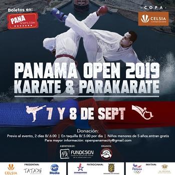 Panama Open Karate 2019