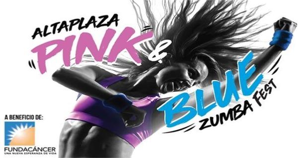 PINK & BLUE ZUMBA FEST