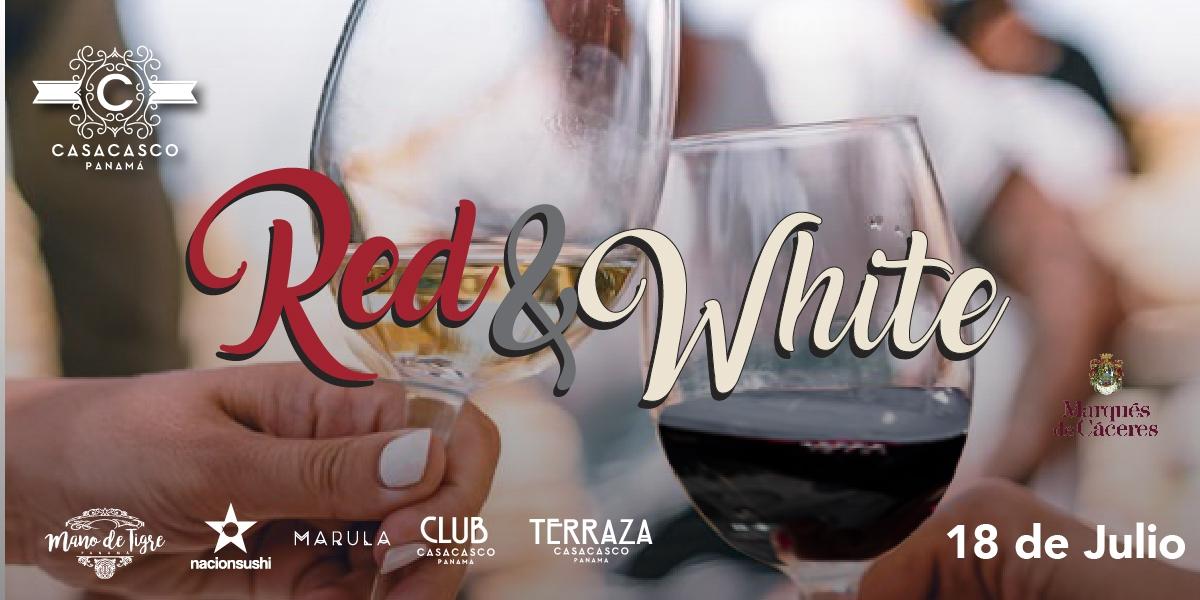 Red & White Promo at CasaCasco