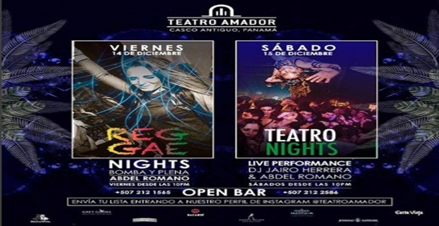 REGGAE & TEATRO NIGHT