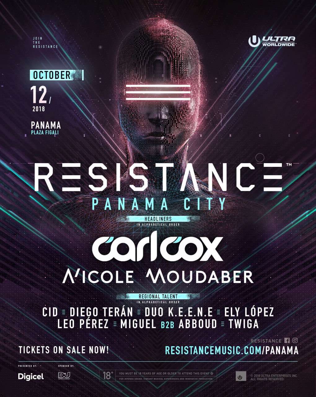 RESISTANCE PANAMA 2018
