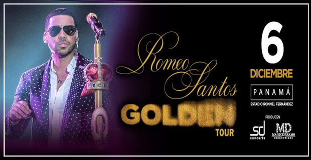 ROMEO SANTOS EN SU GOLDEN TOUR