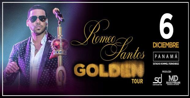 ROMEO SANTOS EN SU GOLDEN TOUR