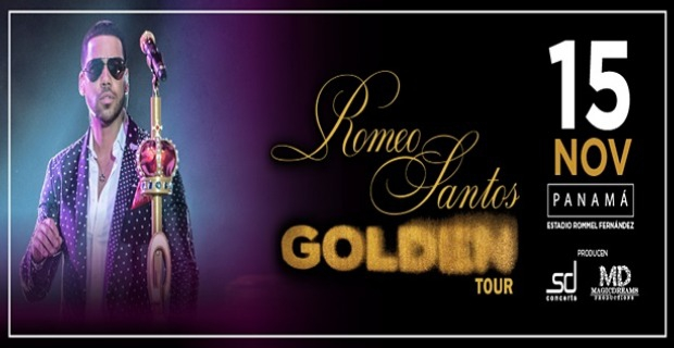 ROMEO SANTOS IN HIS GOLDEN TOUR