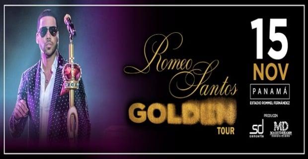 ROMEO SANTOS IN HIS GOLDEN TOUR