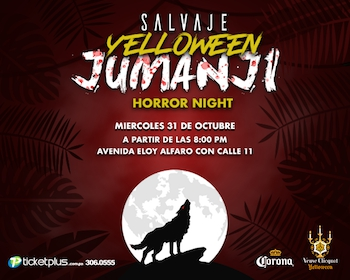 SALVAJE JUMANJI HALLOWEEN HORROR NIGHT AFTER PARTY MALUMA