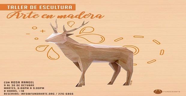 TALLER DE ESCULTURA: ARTE EN MADERA