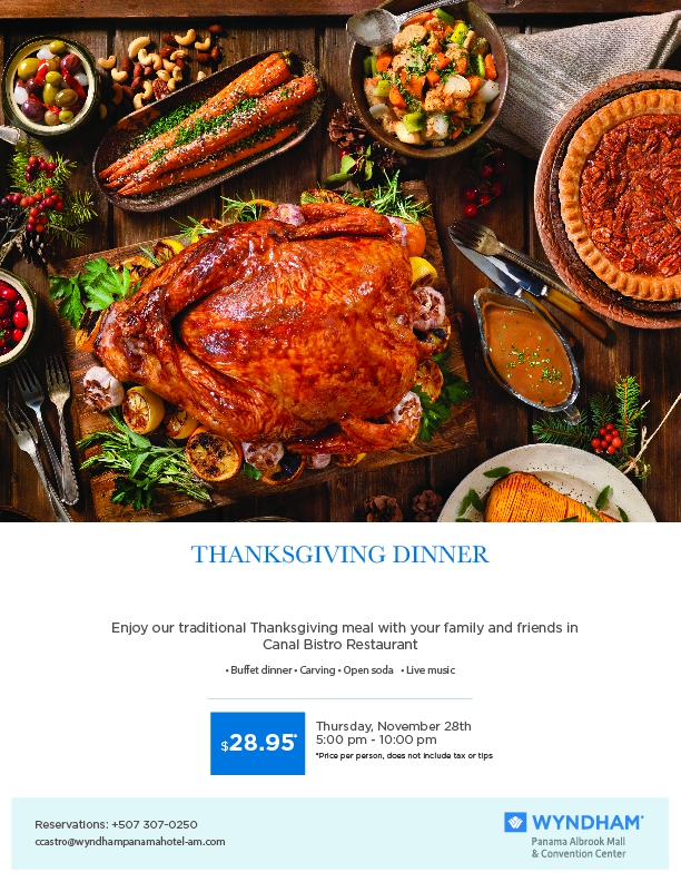 Thanksgiving Dinner at Wyndham
