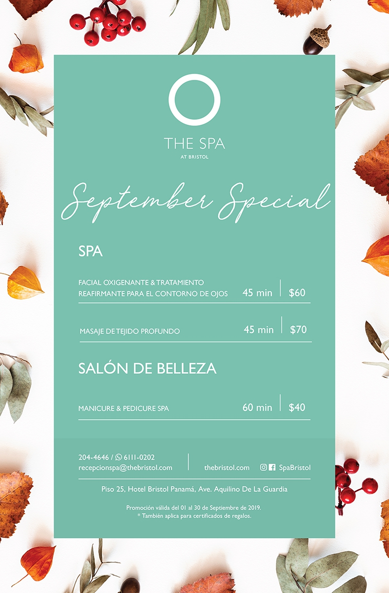 The Bristol Spa - September Special