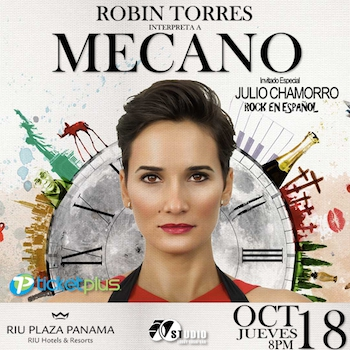 THE DAUGHTER OF THE MOON 'Robin Torres plays MECANO'