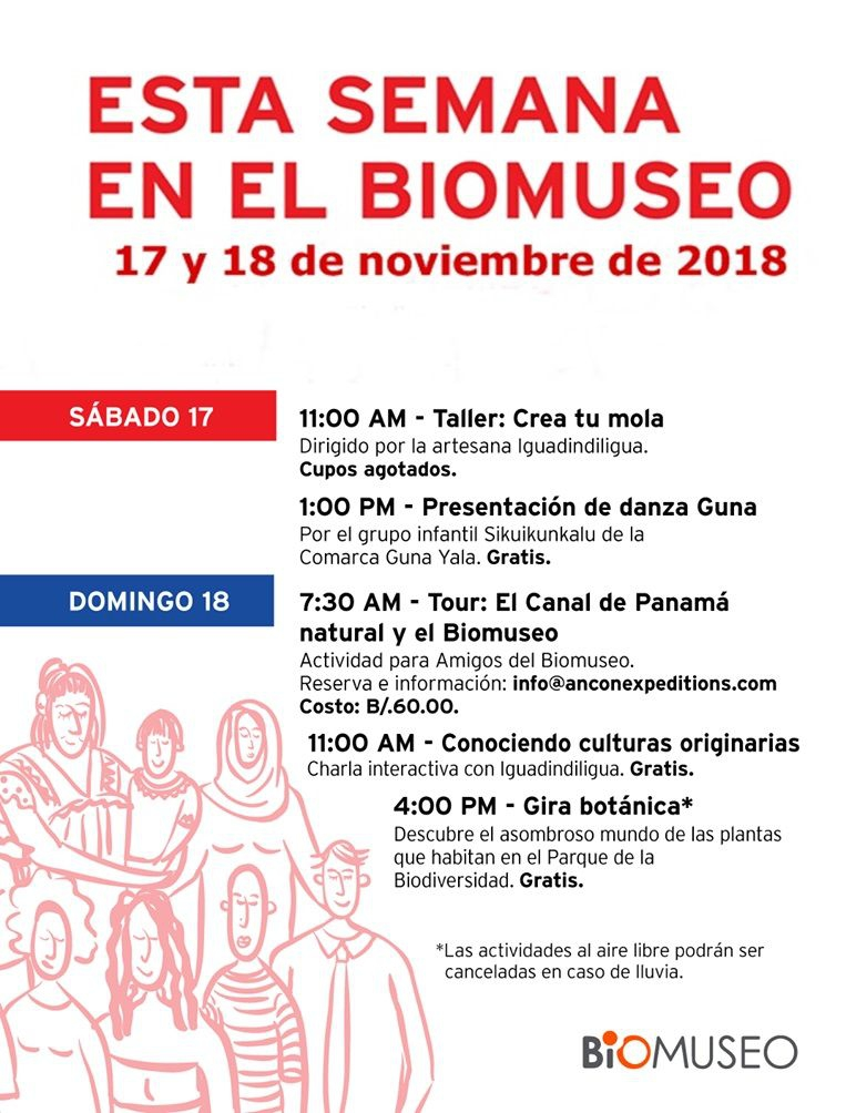 THIS WEEK IN BIOMUSEO
