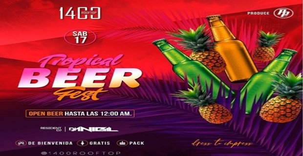 TROPICAL BEER FEST