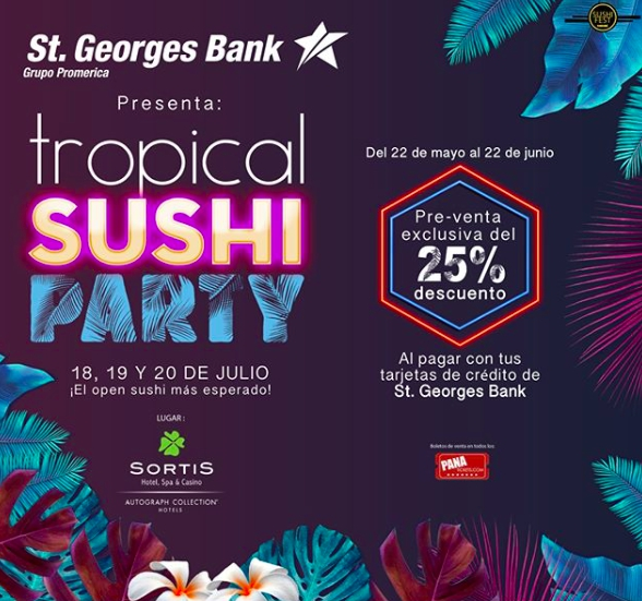 Tropical Sushi Party