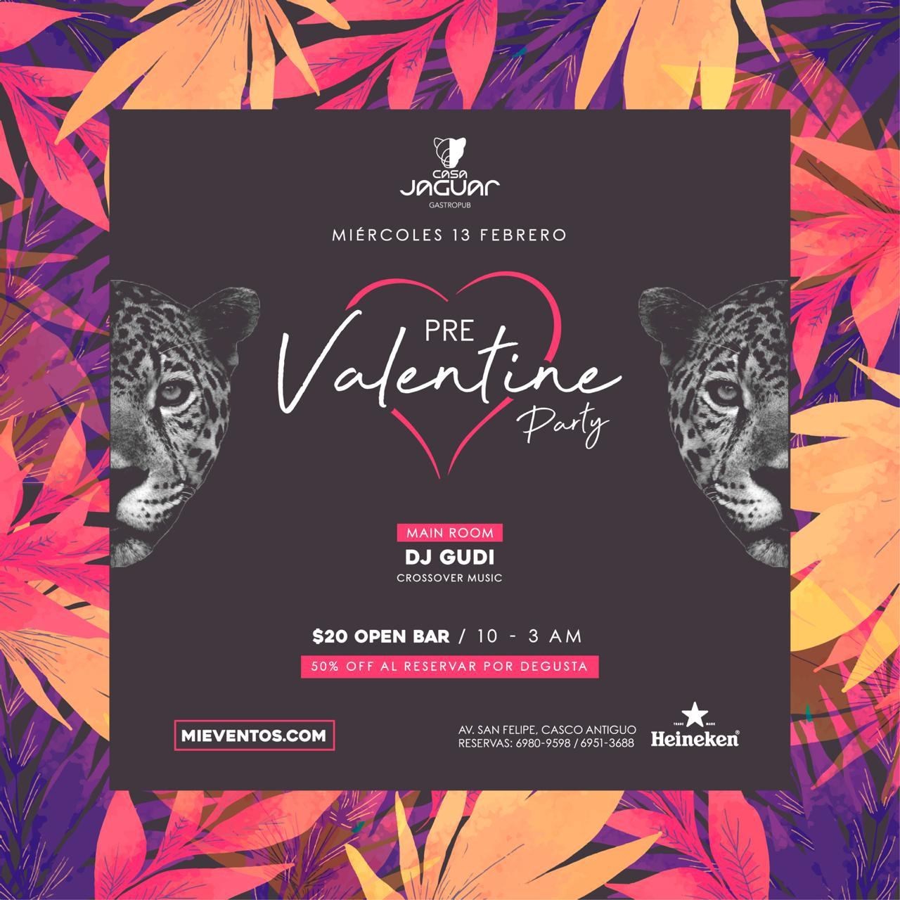 Valentines day Pre Party