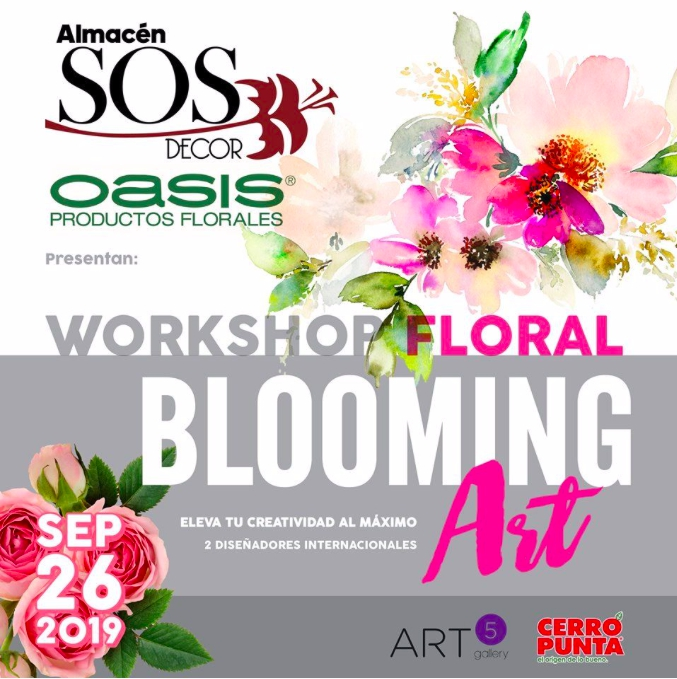 Floral Blooming Art Workshop