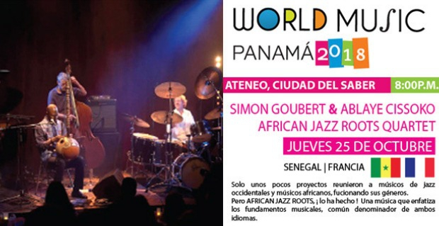 WORLD MUSIC PANAMÁ 2018: SIMON GOUBERT & ABLAYE CISSOKO