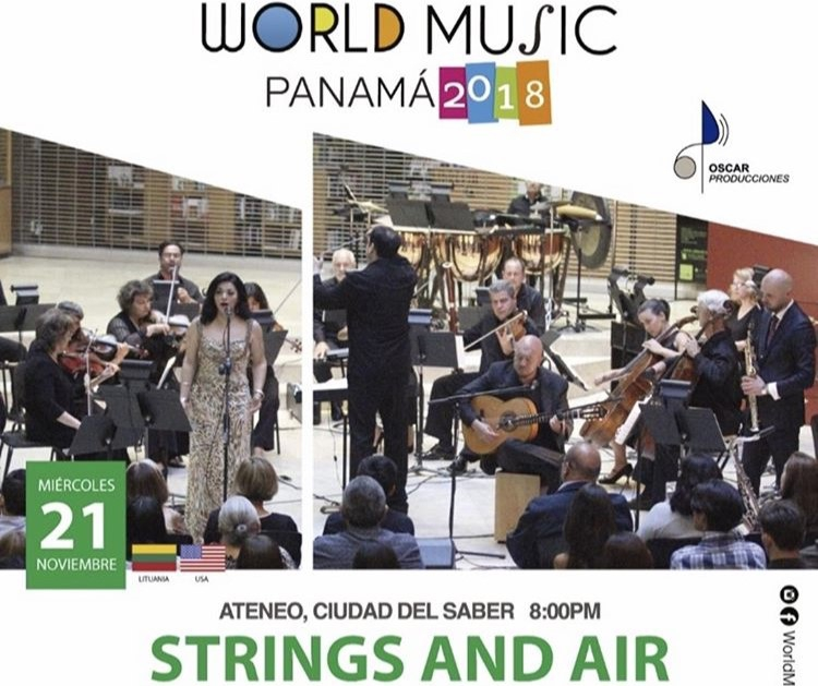 WORLD MUSIC PANAMÁ 2018: STRINGS AND AIR