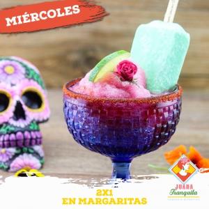 2x1 in Margaritas