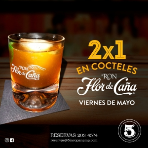2x1 in Rum Cocktails