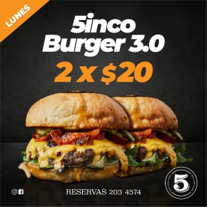 5inco Burger 3.0