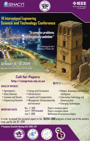 7th International Engineering Science and Technology Conference