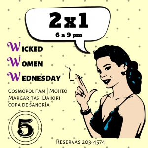 Wicked Woman - 5inco Wednesday