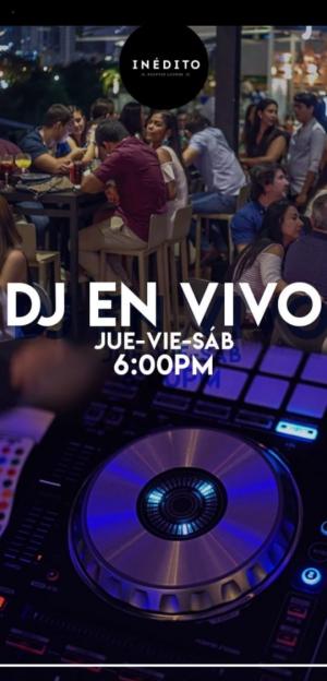 LIVE MUSIC DJ Inedito